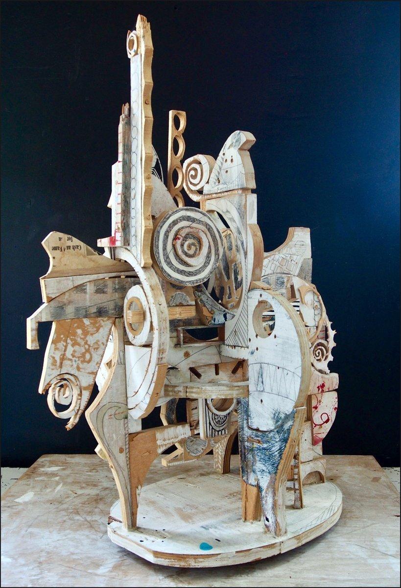 Trojan Horse Sculpture By Mikhail Gubin