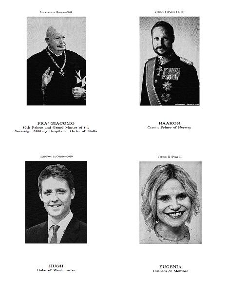 Almanach de Gotha 2019: Volumes I & II