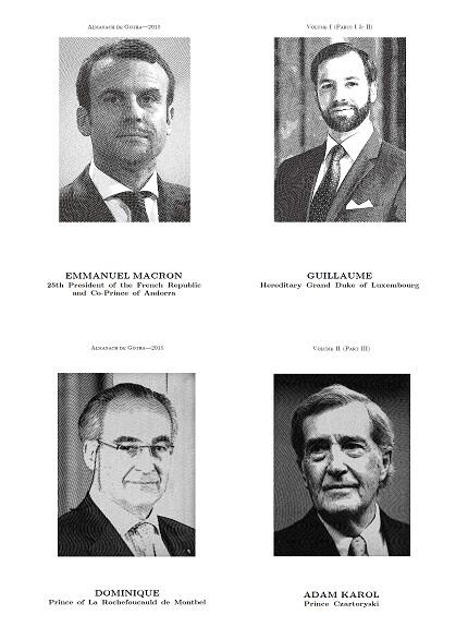 Almanach de Gotha 2018: Volumes I & II