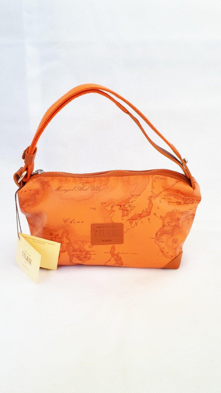 ALVIERO MARTINI (PRIMA CLASSE) - Borsello arancio con tracolla
