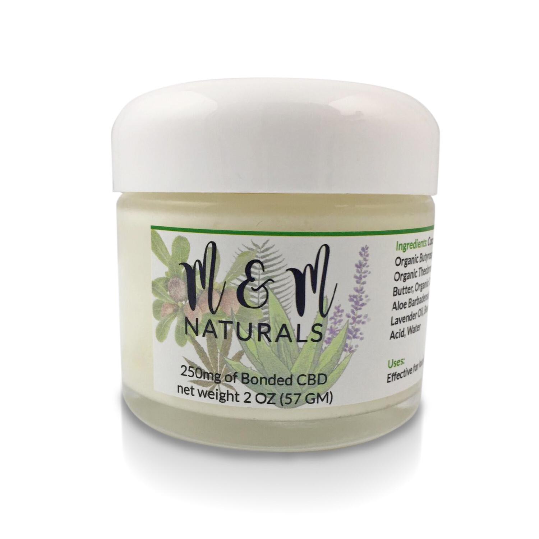 M&M Naturals CBD Cream