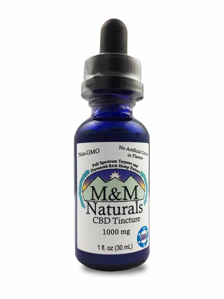 M&M Naturals CBD oil for People