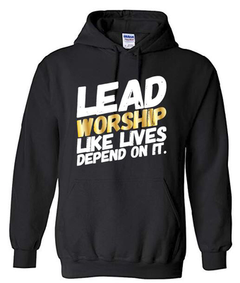 LEAD WORSHIP Hoodie | with GOLD