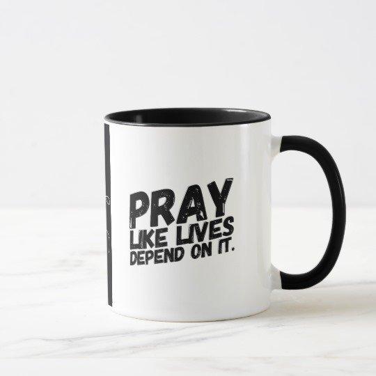 PRAY - Coffee Mugs