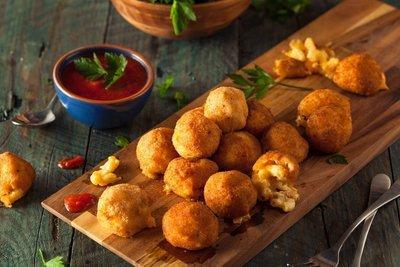 Fried Macaroni Bites