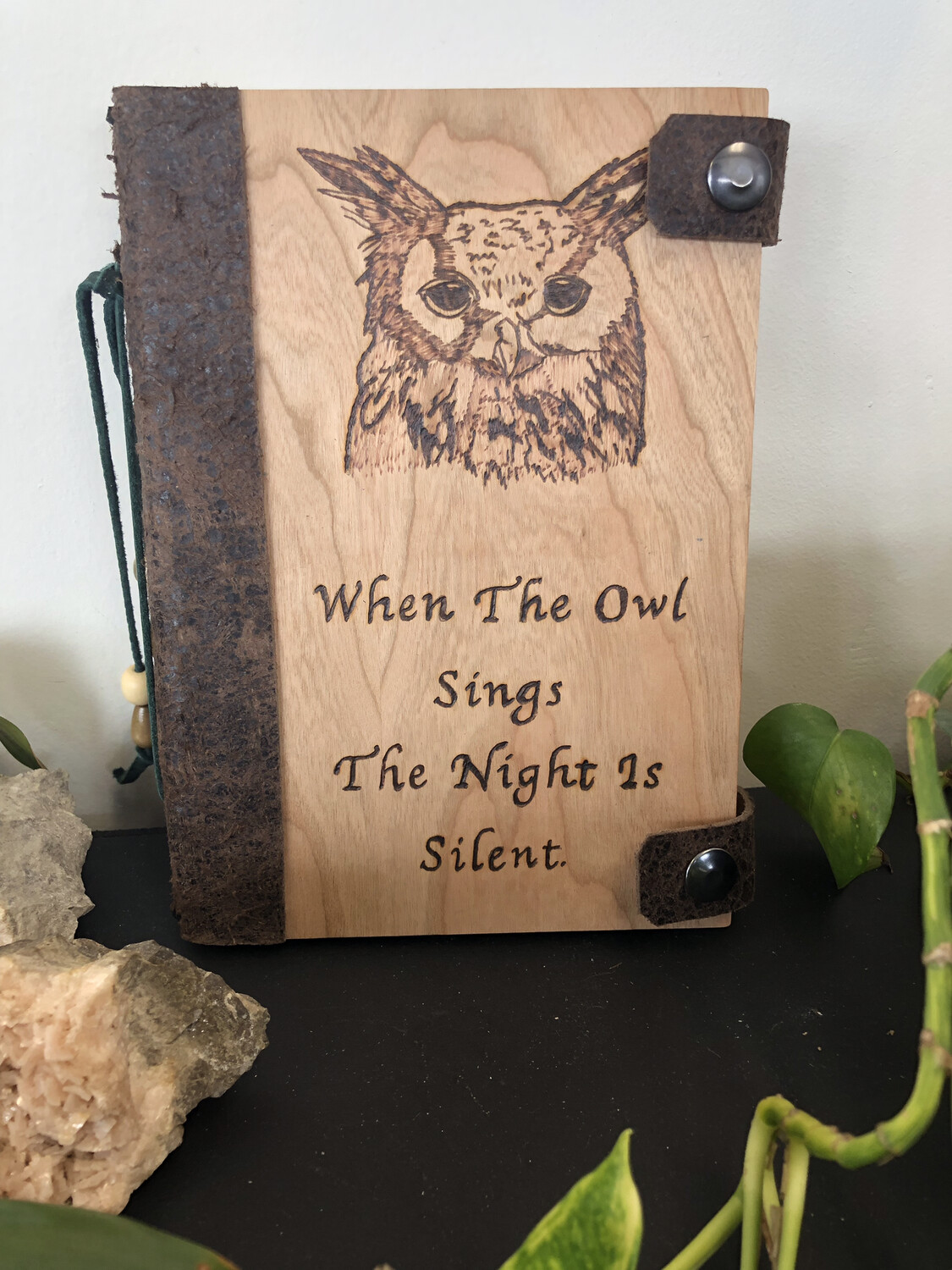 When The Owl Sings Journal