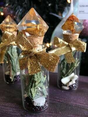 Winter Solstice/Yule Altar Vials