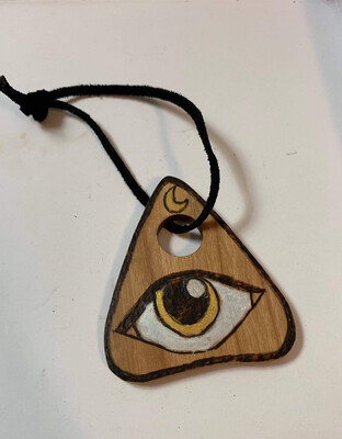 Limited Edition - Planchette Ornament - Pyrographic Designs