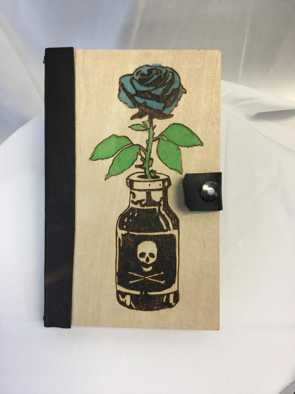 Blue Poison Rose Journal