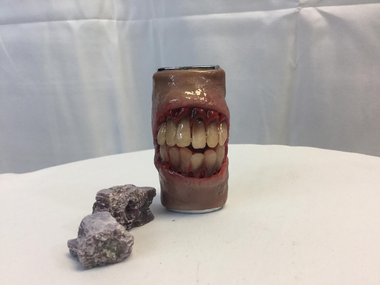 Zombie Smile Lighter Case
