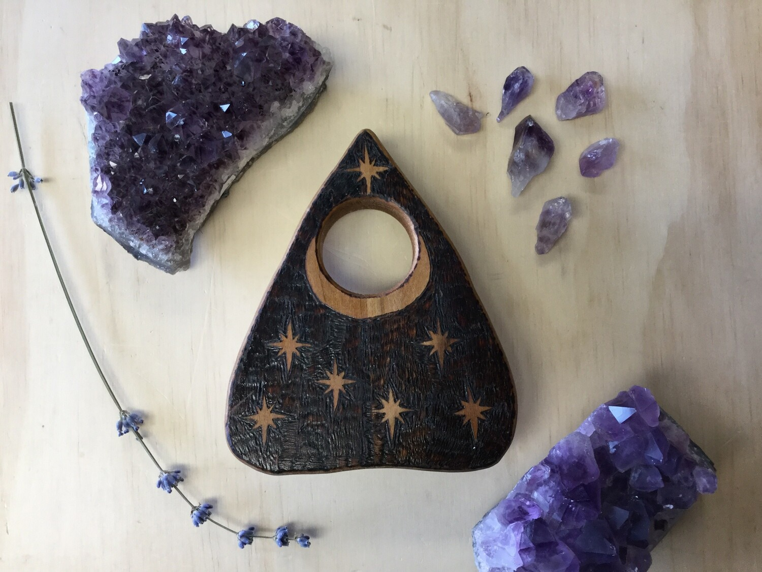 Moon and Stars Planchette