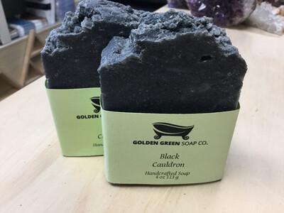 Black Cauldron Soap