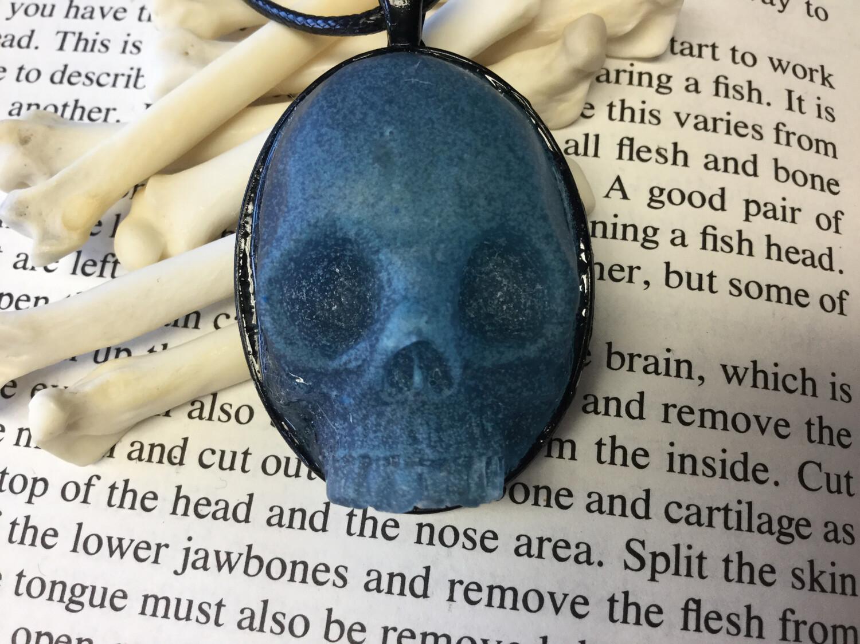 Human Skull Necklace