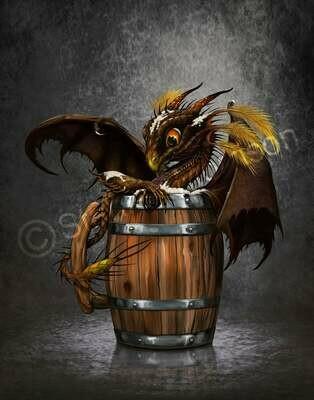 Dark Beer Dragon