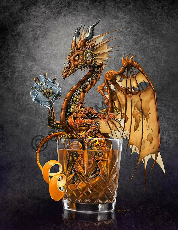 Old Fashioned Dragon