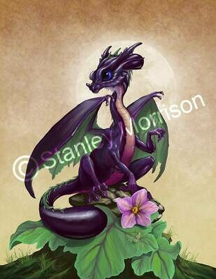 Eggplant Dragon