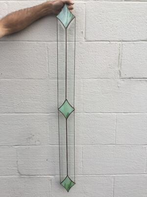 Stained Glass Three Diamonds