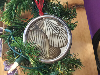 Rice Paper Butterfly Ornament