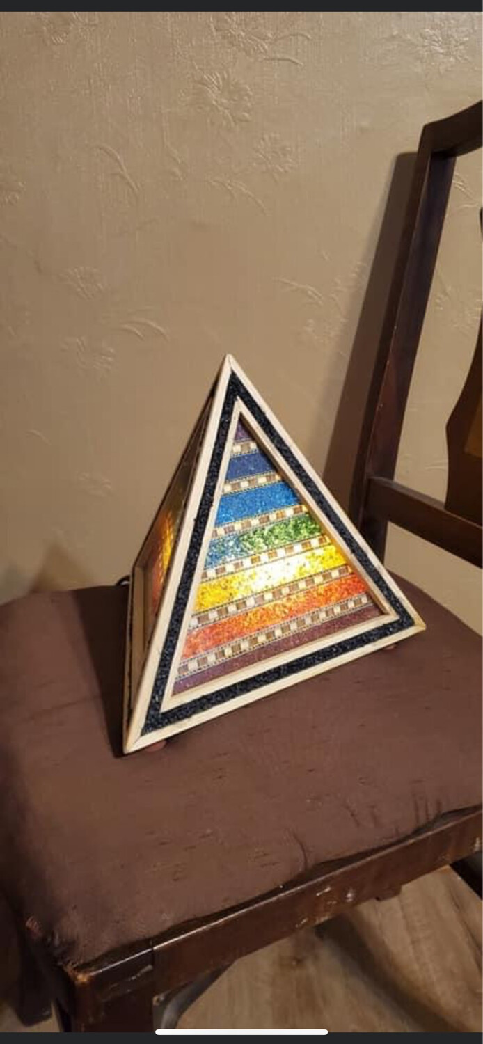 Chakra Chip Lamp for Stacy