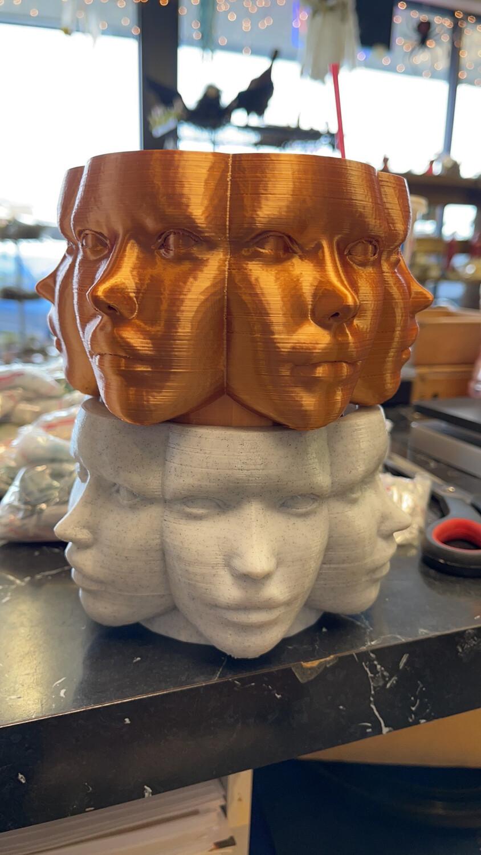 Copper Face Planter