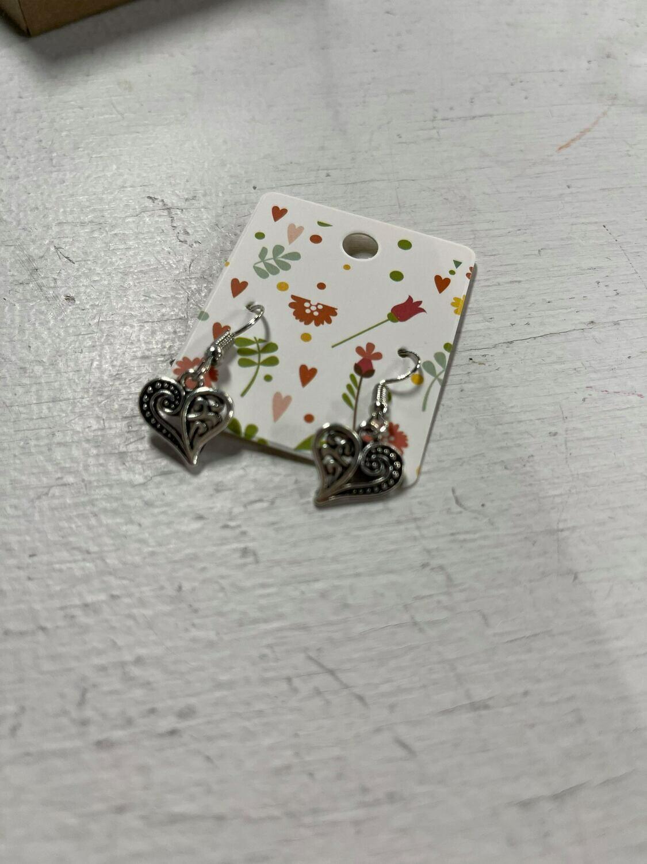 Unclaimed Item #2 - Heart Earrings