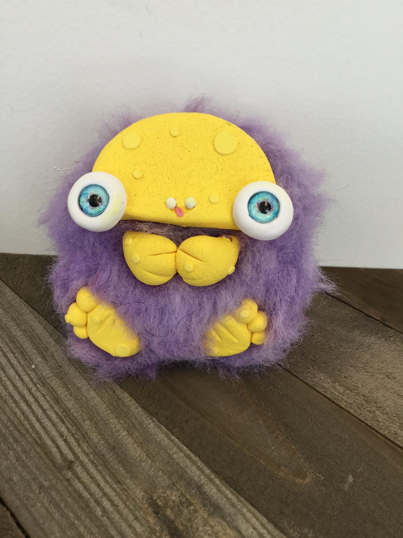 Lavender the Floof Monster
