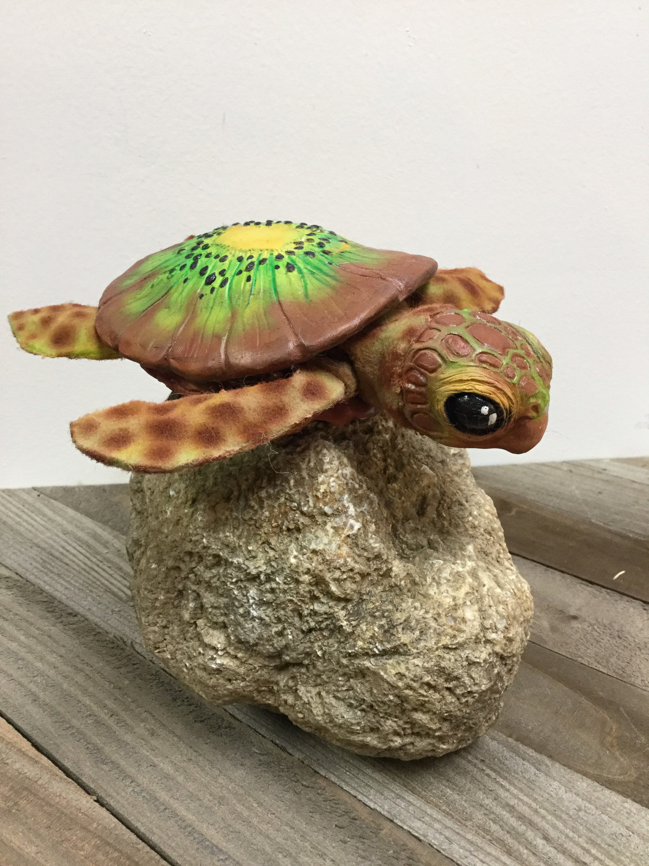 Baby Kiwi Turtle Doll