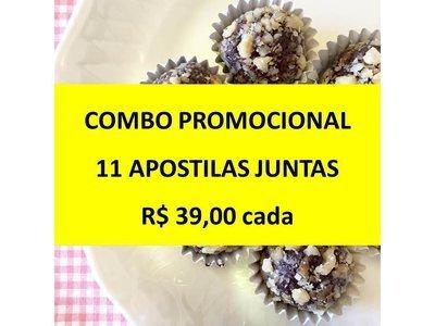 4. COMBO 11 Apostilas Juntas (TODAS)