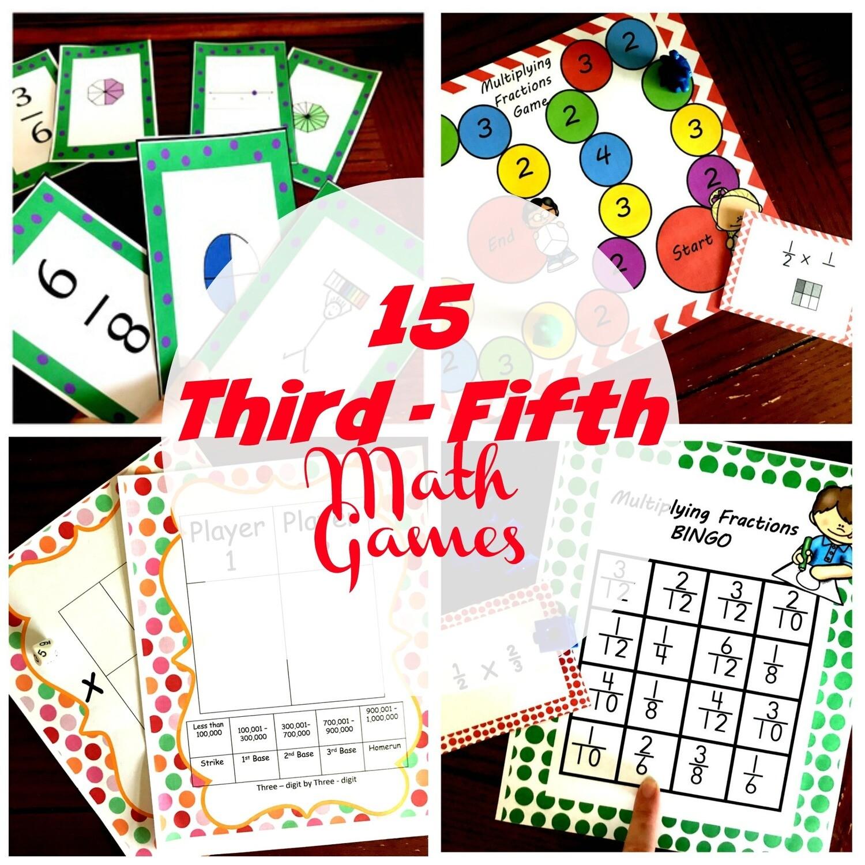 3 - 5 Math Games