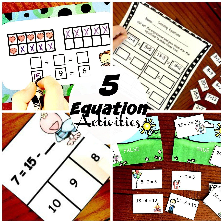 5 Equation Activities
