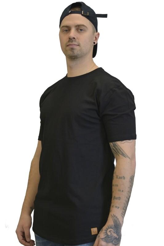 Redwood Long Body T (Black)