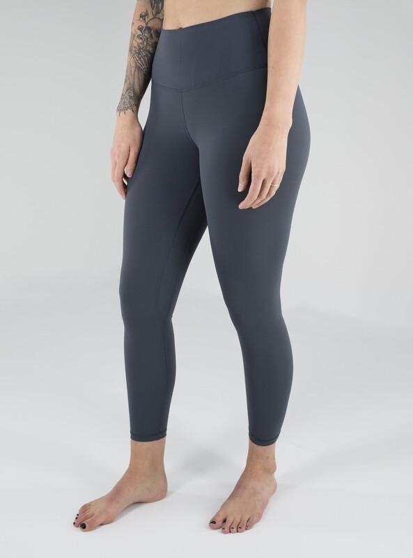 Rym High-Waist Leggings- Dark Grey