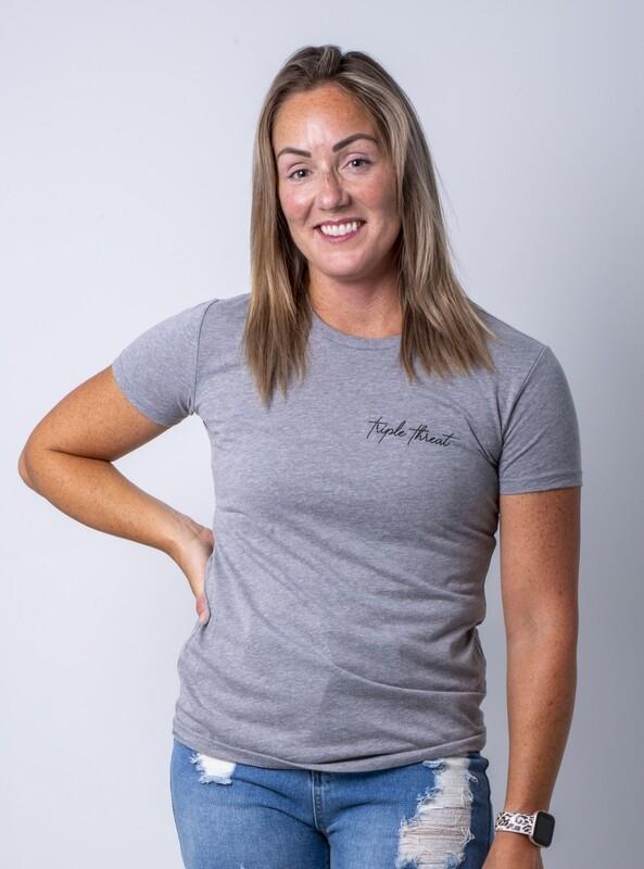 Tamarack Signature T-Shirt- Htr Gray