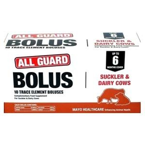 All Guard Cattle Bolus - High Iodine