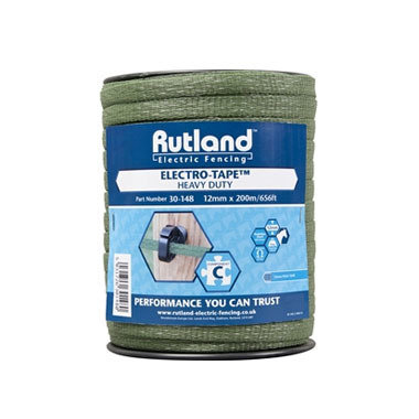 Electrotape Green 12mm - Rutland