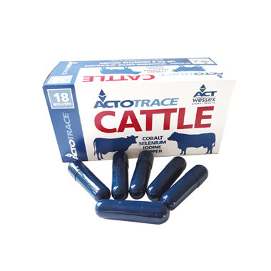 Actotrace High Iodine Cattle Bolus