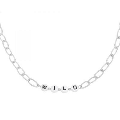 WILD Necklace Silver