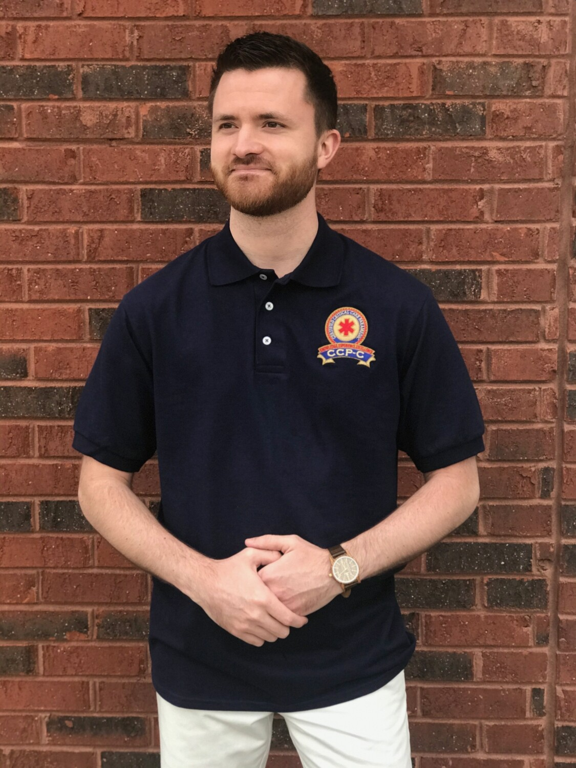 CCP-C Polo shirt - NAVY