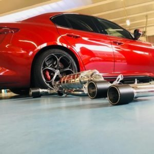 Valved Exhaust System WITH Mid Pipes