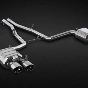 Valved Exhaust System, Mid-Pipes (Incl. CES-3 Remote)