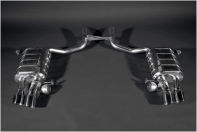 Valved Exhaust System (Incl. Remote)