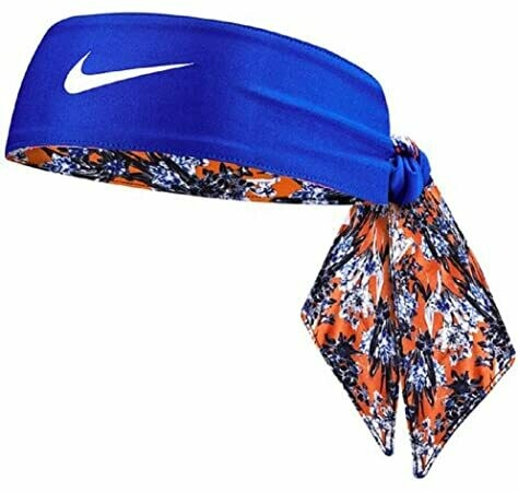 Nike Head Tie Royal/Orange Reversible