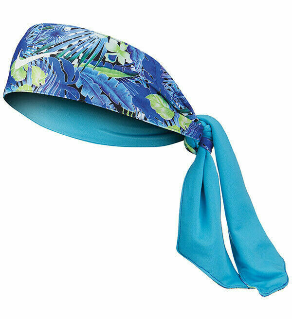 Nike Head Tie Flowers Royal/Green Reversible