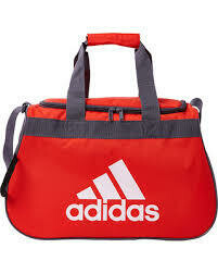 Adidas Diablo Duffle Bag Red