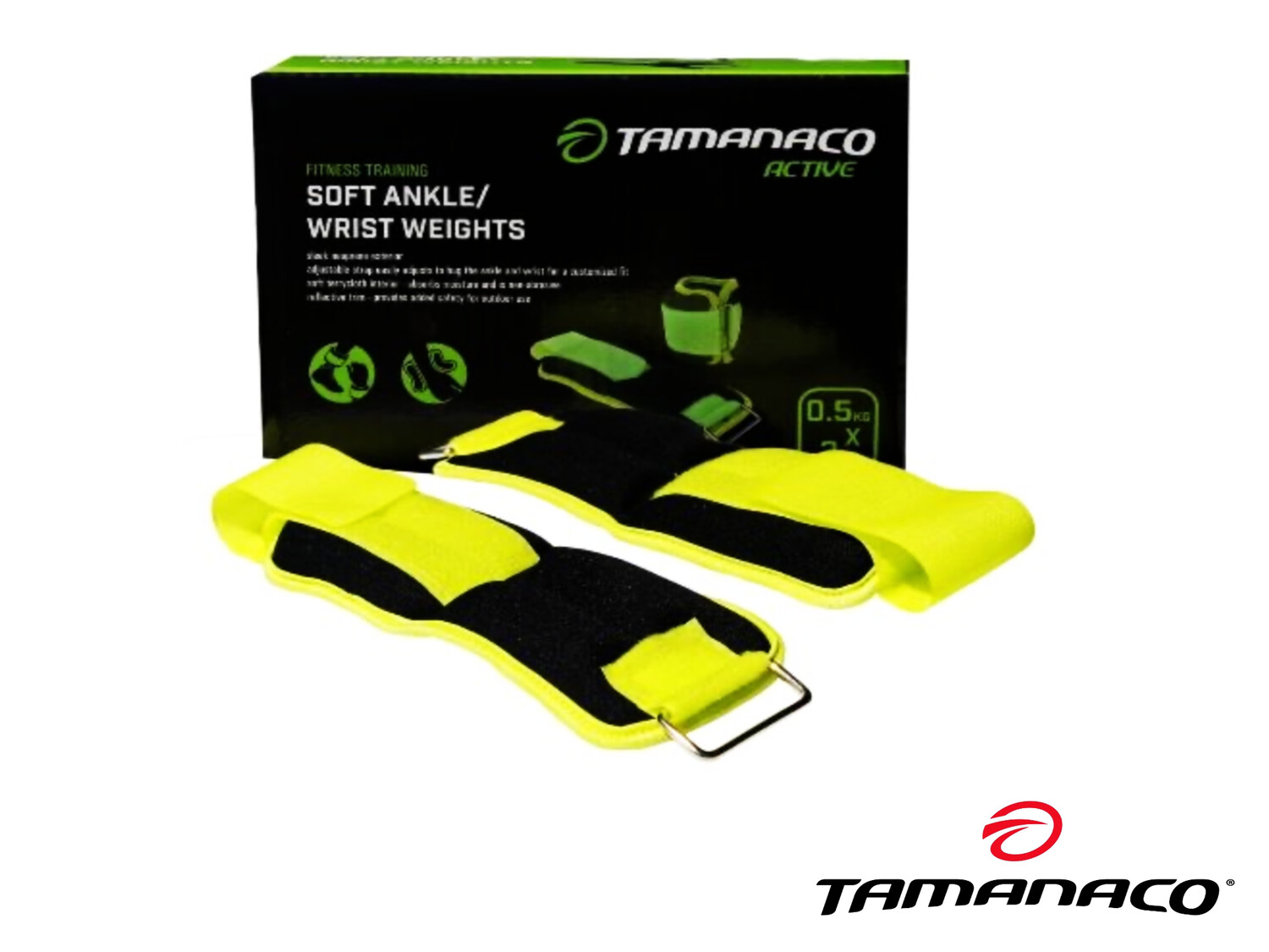 1.5 Kgs (3lbs) - Pair of Ankle Weight Tamanaco