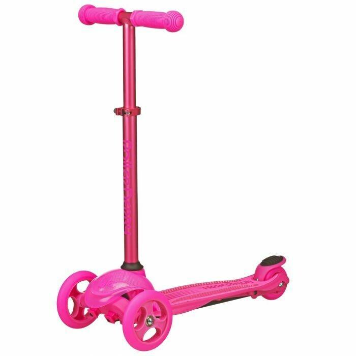 3 Wheel Scooter Pink Roller Derby