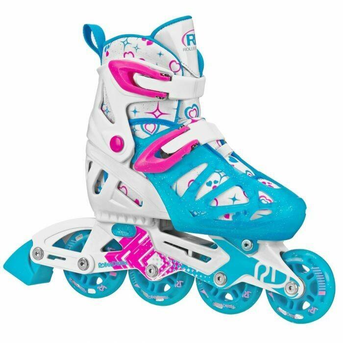 Tracer Girl Inline Roller Derby