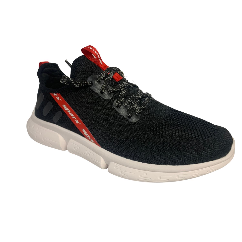 SM453 Sparx Black/White Running Shoes