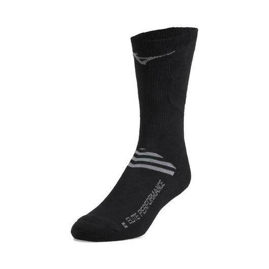 480189 Black Runbird Sock Mizuno