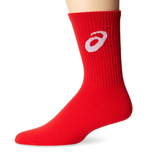 ZK1454 Red Crew Sock Asics